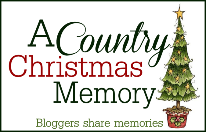 Country Christmas Memory. Simple Christmas Swag