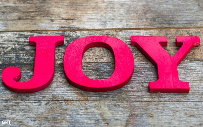 DIY|Simple Christmas Joy Sign.