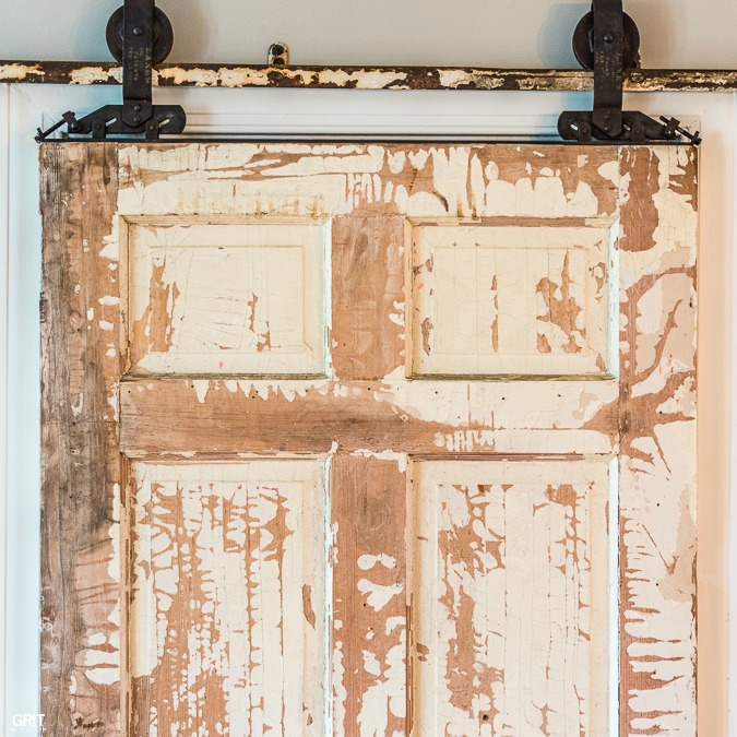 Antique Sliding Door