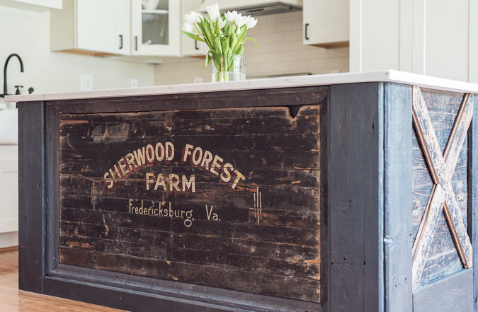DIY Farmhouse Kitchen Island